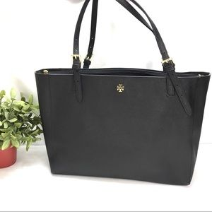 Tory Burch York Buckle Saffiano Leather Tote